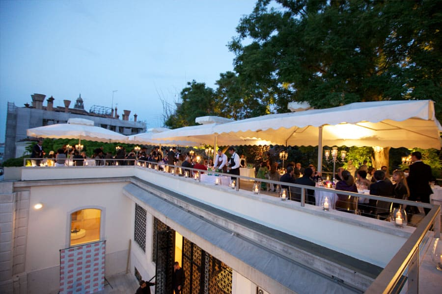 Gala Dinner, Peggy Guggenheim Collection, Palazzo dei Leoni Rooftop